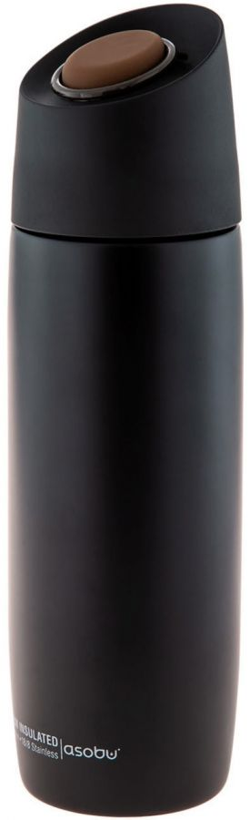 Asobu 5th Avenue Coffee Tumbler termosmuki 390 ml, musta
