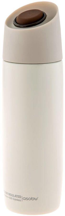 Asobu 5th Avenue Coffee Tumbler termosmuki 390 ml, valkoinen