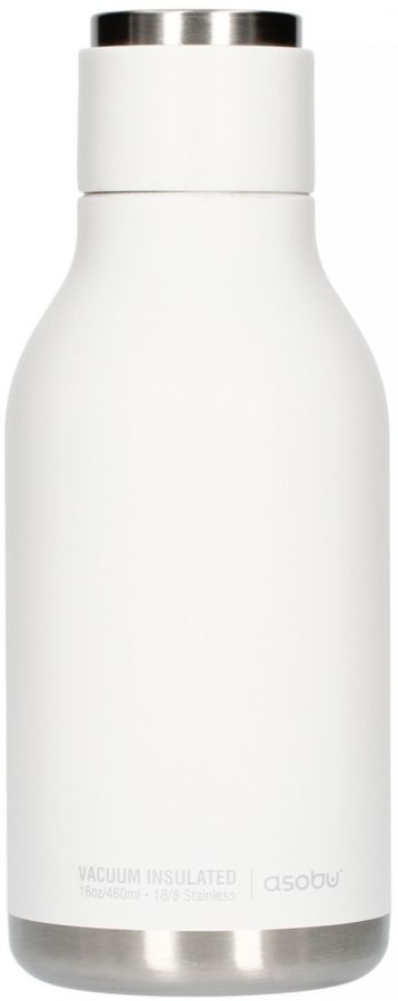 Asobu Urban Water Bottle 460 ml, White