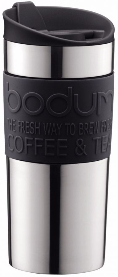 Bodum Travel Mug matkamuki 350 ml, musta