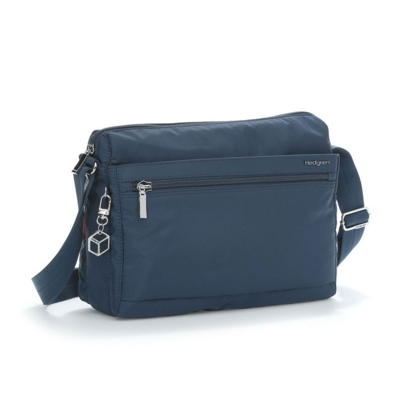 Hedgren Inner City Eye M Shoulder Bag, Dress Blue
