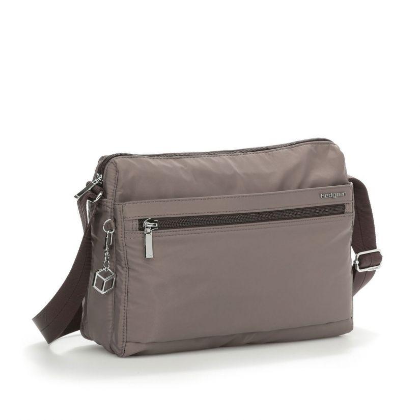 Hedgren Inner City Eye M Shoulder Bag, Sepia/Brown