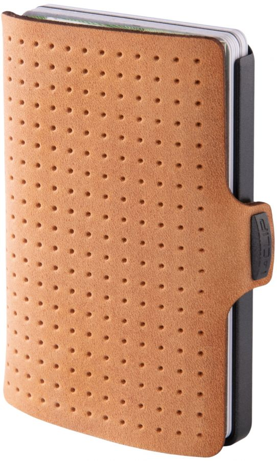 I-Clip Advantage Leather wallet, Caramel