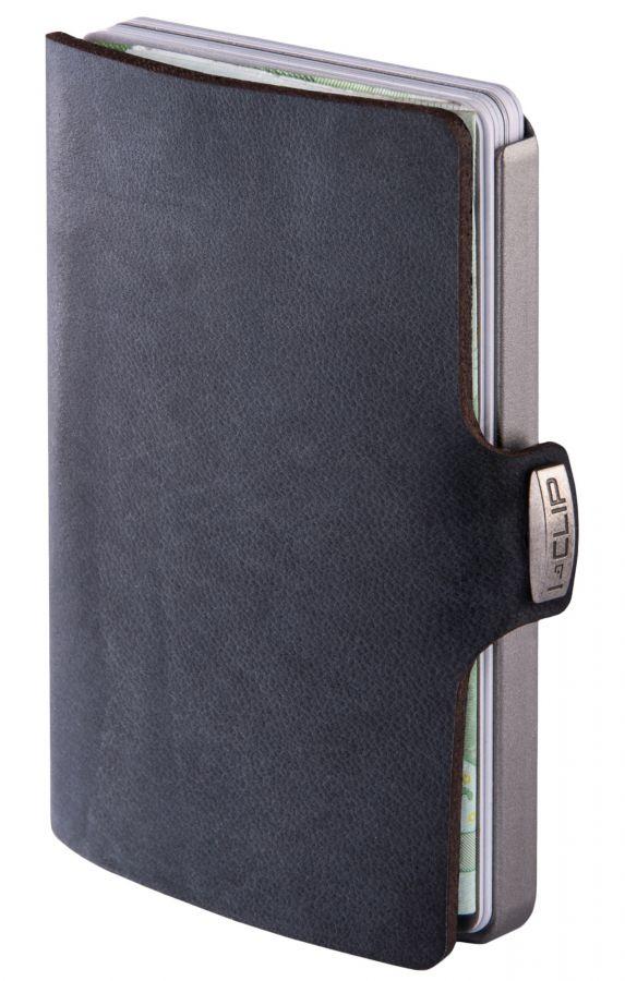 I-Clip Soft Touch lompakko, musta