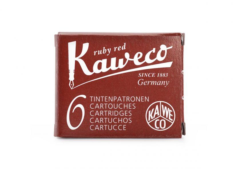 Kaweco Ink Cartridges 6-pack, Ruby Red