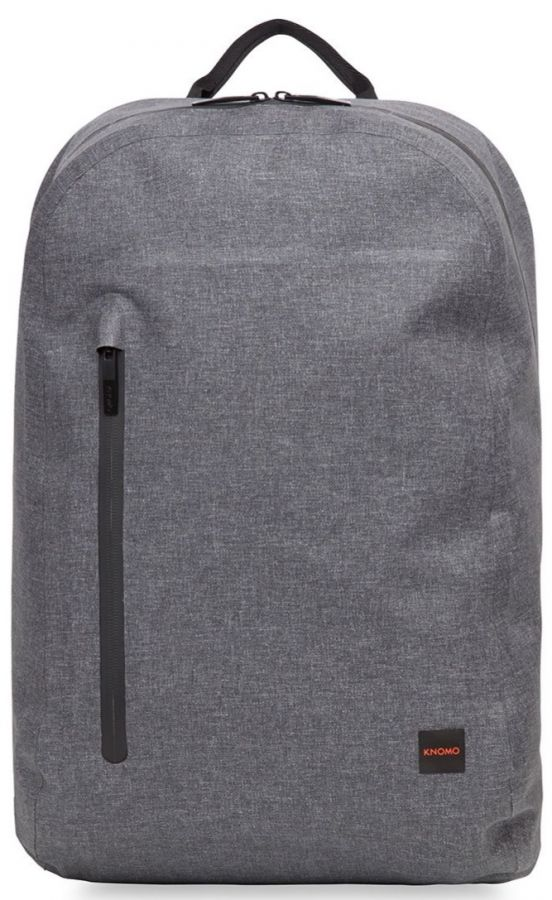 "Knomo HARPSDEN Zip Backpack 14"", grey"