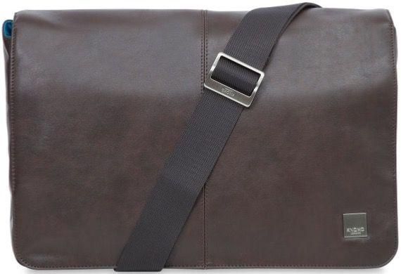 "Knomo Kinsale Cross Body Bag 13"", brown"