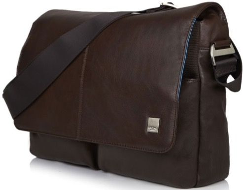 "Knomo KOBE Soft Messenger Bag 15"", brown"