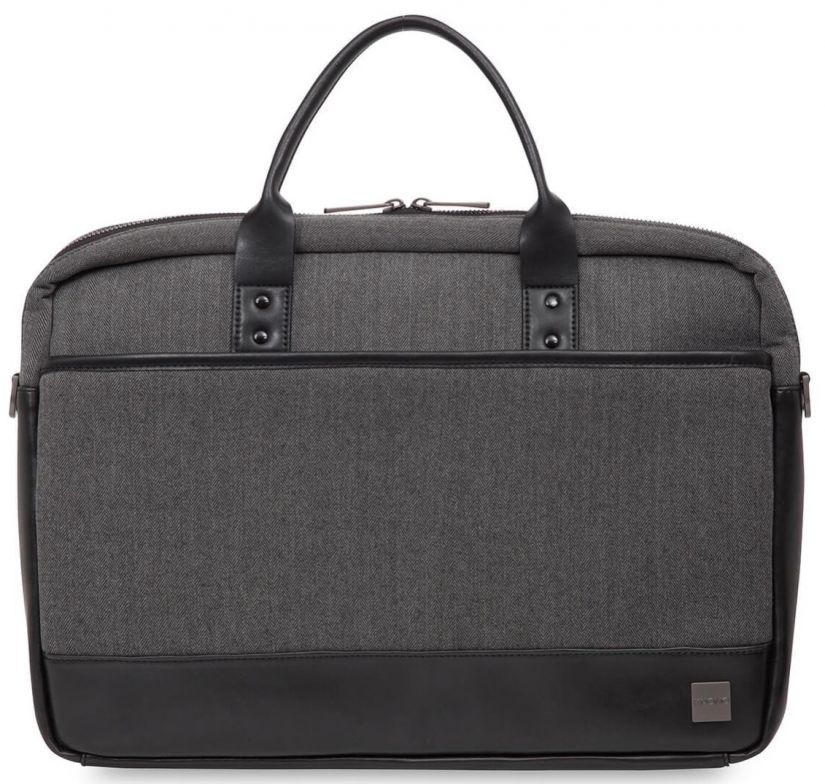 "Knomo PRINCETON Laptop Toploader Laptop bag 15"", grey"