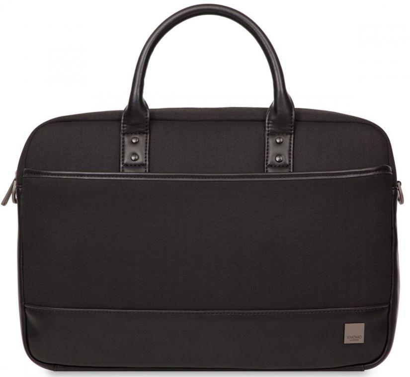 """Knomo PRINCETON Laptop Toploader Bag 15"""", black"""