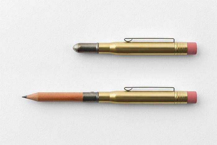 Traveler's Company  Brass Pencil Solid Brass