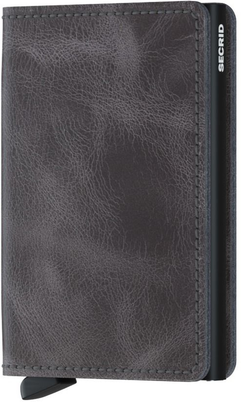 Secrid Slimwallet, Vintage Grey-Black