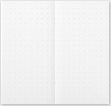 Traveler's Notebook Dot Grid Refill