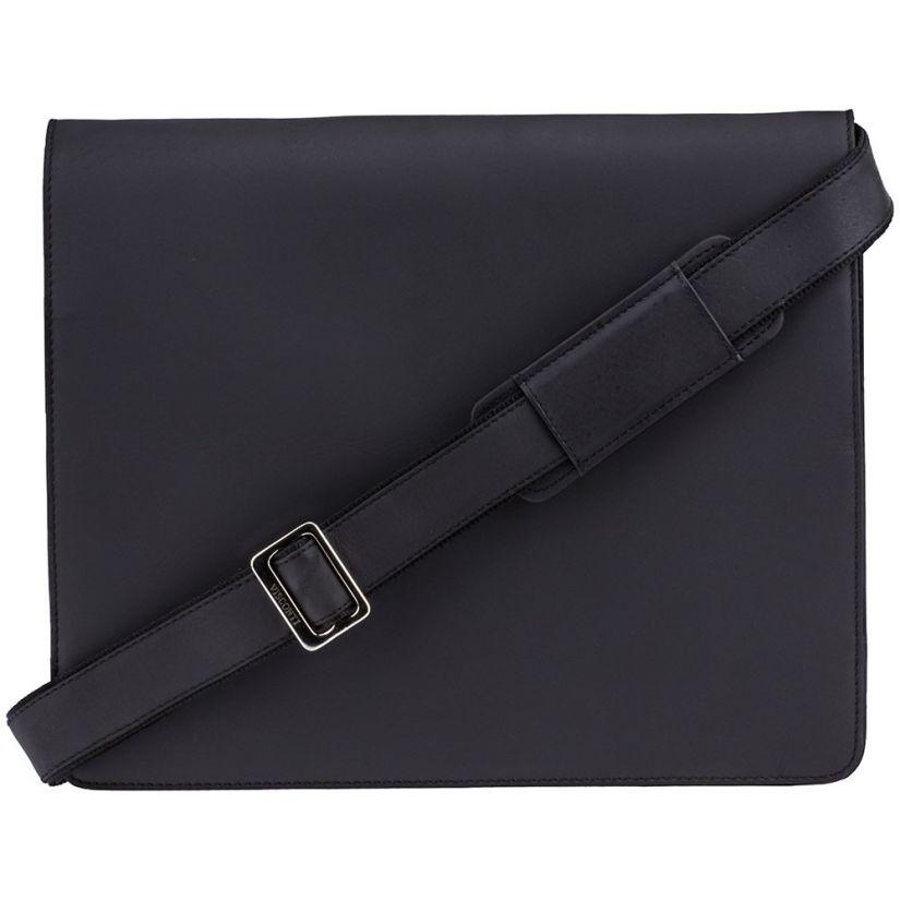 Visconti Harvard XL messenger bag, black