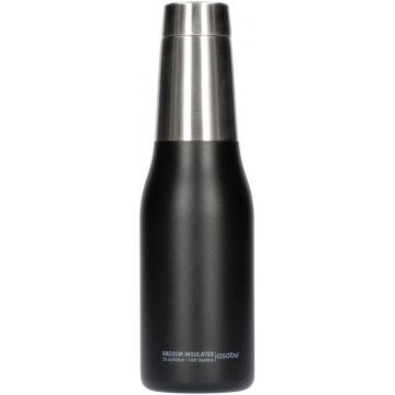 Asobu Oasis Water Bottle 600 ml, Black