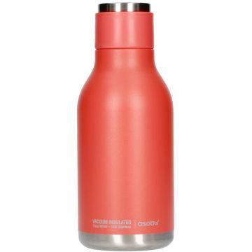 Asobu Urban Water Bottle teräksinen juomapullo 460 ml, peach