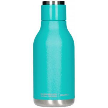 Asobu Urban Water Bottle teräksinen juomapullo 460 ml, turkoosi
