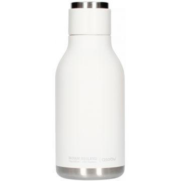 Asobu Urban Water Bottle teräksinen juomapullo 460 ml, valkoinen