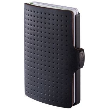 I-Clip Advantage Leather wallet, Black