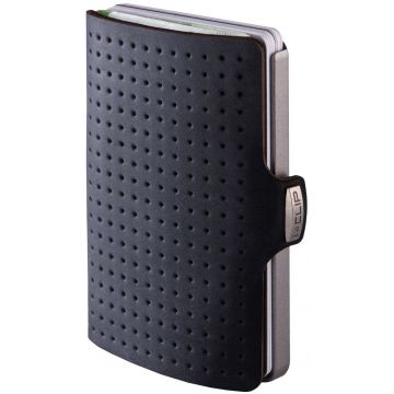 I-Clip Advantage Black Robutense Wallet, Black