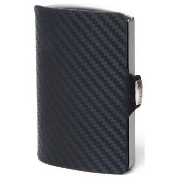 I-CLIP Carbon Fiber Leather Wallet
