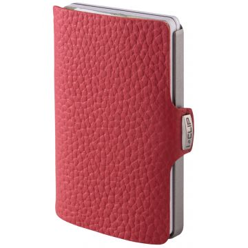 I-CLIP Pilot Leather Wallet, Red