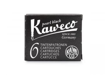 Kaweco Ink Cartridges 6-pack, Pearl Black
