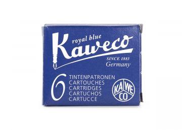 Kaweco Ink Cartridges 6-pack, Royal Blue