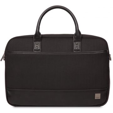 "Knomo PRINCETON Laptop Toploader Bag 15"", black"