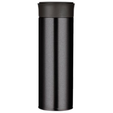 Magisso Visibility Reflective Thermos Bottle, Onyx Black