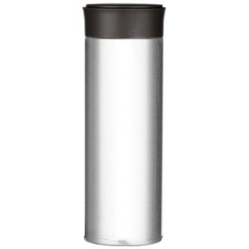 Magisso Visibility Reflective Thermos Bottle, Pearl White