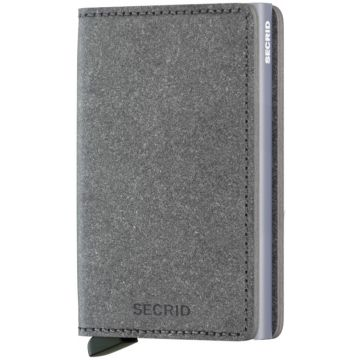 Secrid Slimwallet Leather Wallet, Recycled Stone