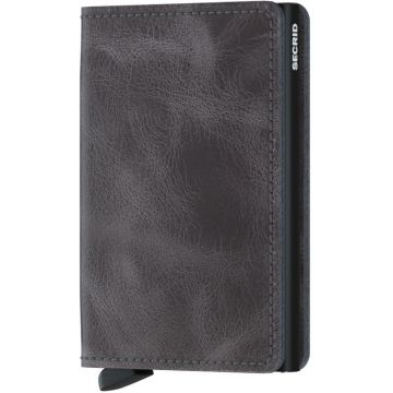 Secrid Slimwallet, Vintage Grey-Black