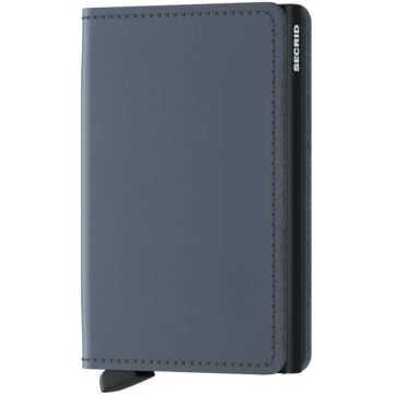 Secrid Slimwallet, Matte Grey-Black