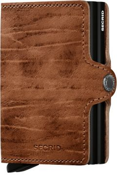 Secrid Twinwallet Leather Wallet, Dutch Martin Whiskey