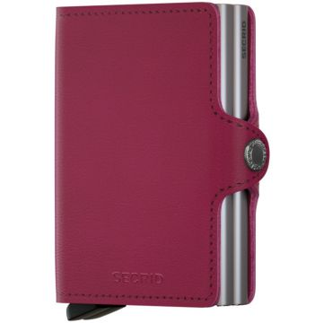 Secrid Twinwallet Leather Wallet, Original Fuchsia