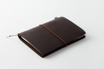 Traveler's Notebook Passport Size, Brown
