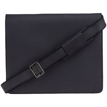 Visconti Harvard XL messenger bag, black