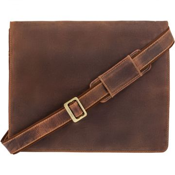 Visconti Harvard XL messenger bag, light brown
