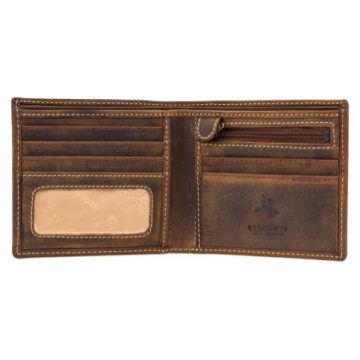 Visconti Shield RFID Blocking Wallet, Oil Tan
