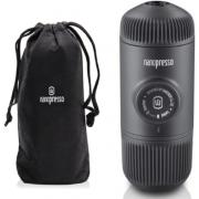 Wacaco Nanopresso Portable Espresso Maker + Bag, Grey